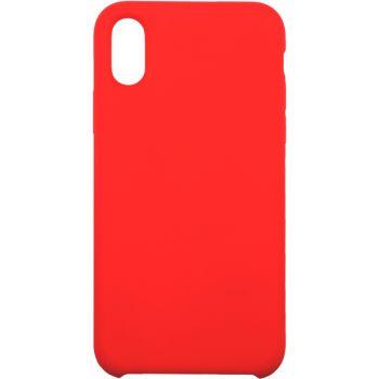Чехол для iPhone InterStep для iPhone X SOFT-T METAL ADV красный
